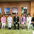 2017年4月6日 荒井知事表敬訪問